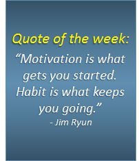 Quote of the week - 09/12/2016
