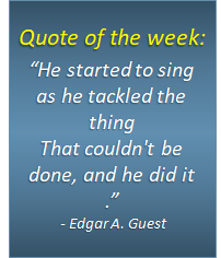 Quote of the week - 12/04/2018
