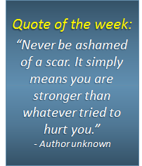 Quote of the week - 15/02/2018