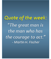 Quote of the week - 23/09/2016