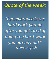 Quote of the week - 10/03/2014
