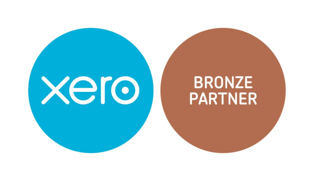 Xero accounting software – Bronze Partner logo