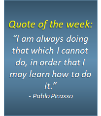 Quote of the week - 11/09/2018